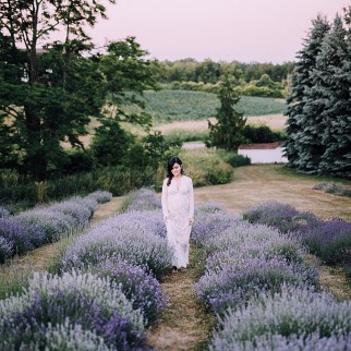 Simply Lace Photography | Lavender Field Maternity Session
